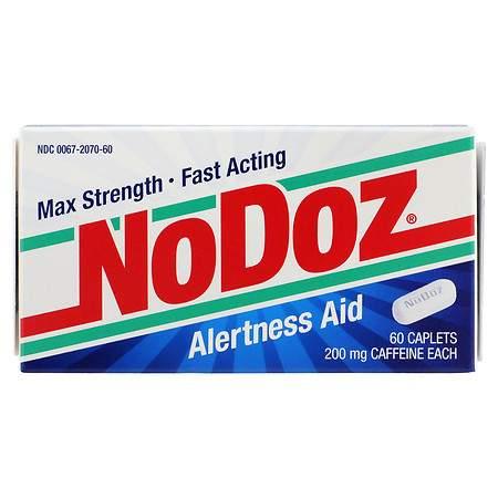 NoDoz Alertness Aid Caplets - 60 ea