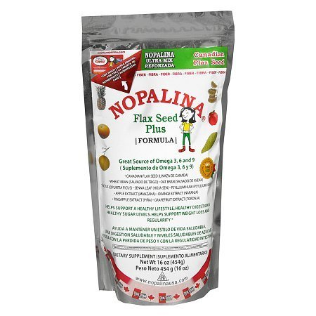 Nopalina Flax Seed Plus Dietary Supplement Powder - 16 oz.
