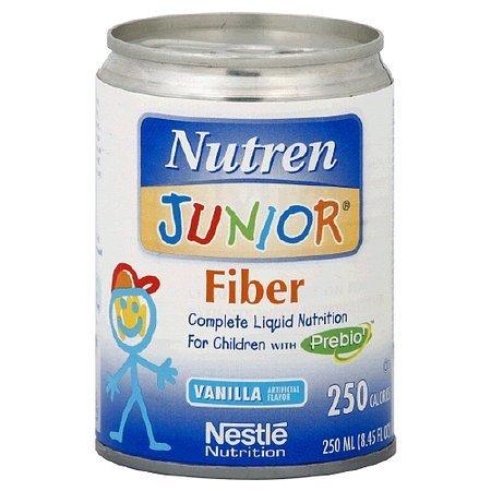 Nutren Junior Fiber Liquid Nutrition for Children Vanilla - 8.45 oz.