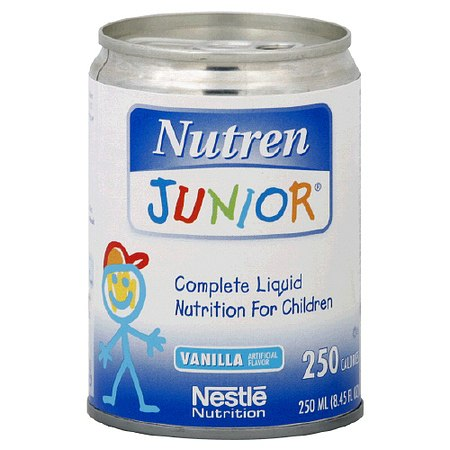 Nutren Junior Liquid Nutrition for Children Vanilla - 8.45 oz.
