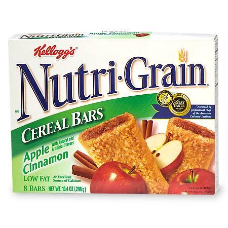 Nutri-Grain Cereal Bars Apple Cinnamon - 1.3 oz.