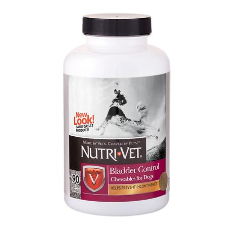 Nutri-Vet Bladder Control Chewables for Dogs - 90 ea