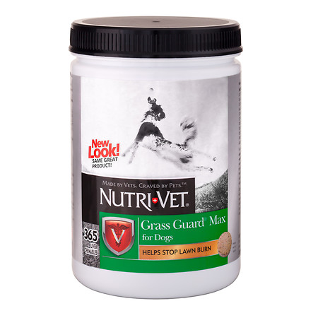 Nutri-Vet Grass Guard Max for Dogs Liver - 365 ct