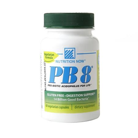 Nutrition Now PB 8, Probiotic Acidophilus, Vegetarian - 60 capsules