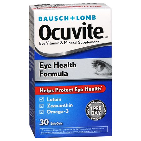 Ocuvite Eye Health Formula Soft Gels - 30 ea.