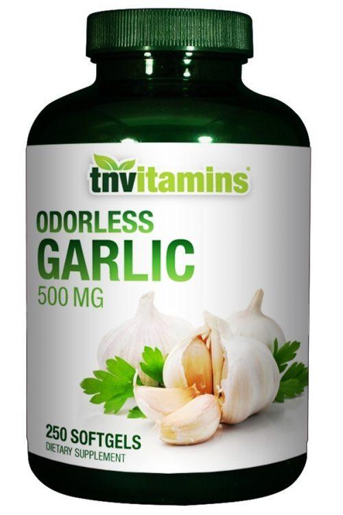 Odorless Garlic Softgels 500 Mg