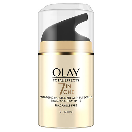 Olay Total Effects 7-in-1 Anti-Aging Face Moisturizer with SPF 15 Fragrance-Free - 1.7 oz.