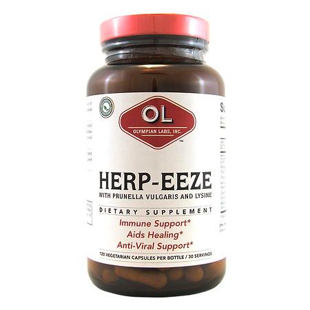 Olympian Labs Herp-Eeze, Vegetarian Capsules - 120 ea