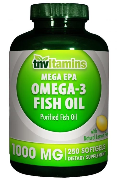 Omega 3 Fish Oil EPA Softgels 1000 Mg