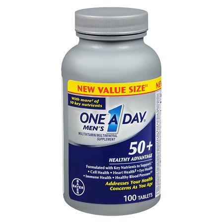 One A Day Men's 50+ Advantage - 100 ea