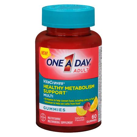 One A Day VitaCraves Metabolism Support Gummies - 60 ea