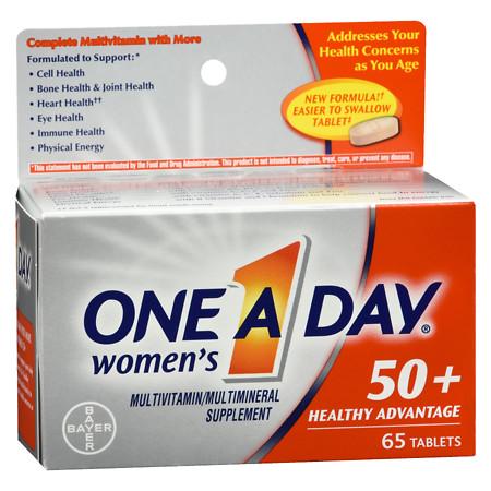 One A Day Women's 50+ Advantage - 65 ea
