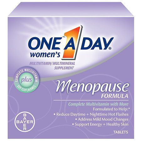 One A Day Women's Menopause Formula MultivitaminMultimineral Supplement Tablets - 50 ea