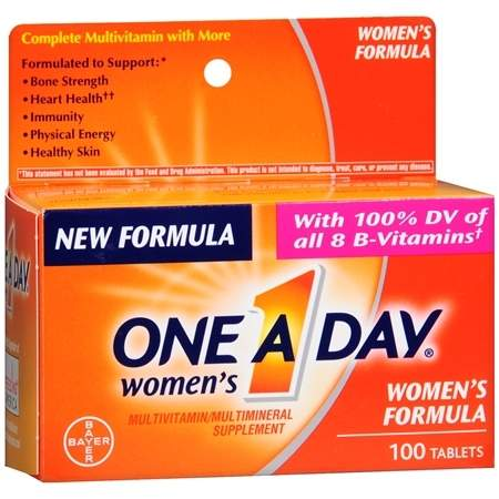 One A Day Women's MultivitaminMultimineral Supplement Tablets - 100 ea