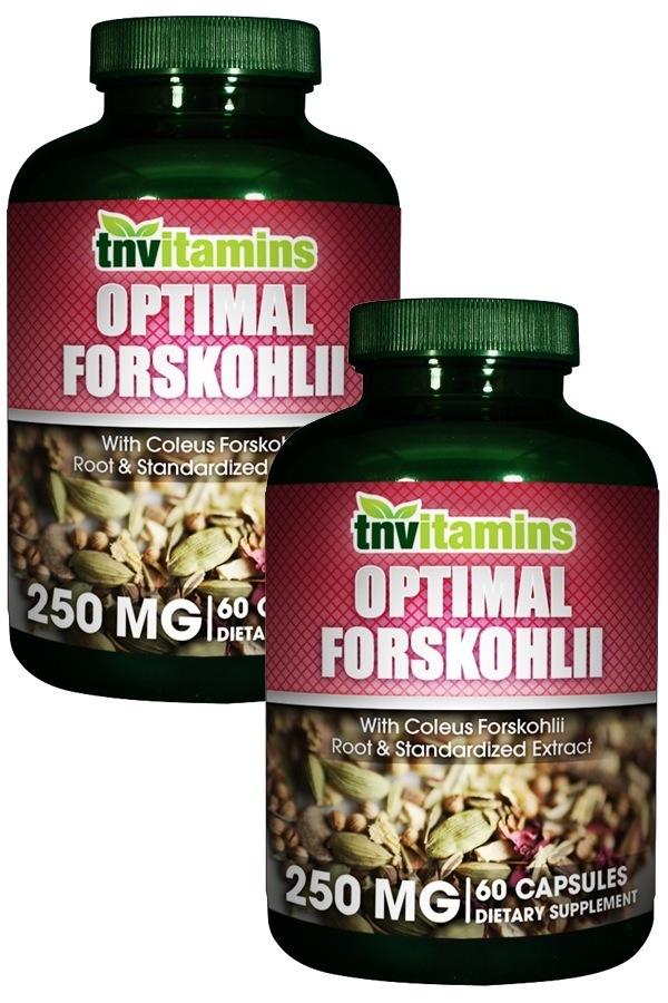 Optimized Coleus Forskohlii 250 Mg With Standardized Forskolin