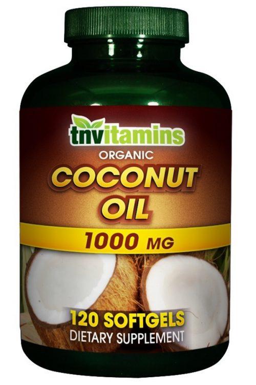 Organic Coconut Oil 1000 Mg Softgels