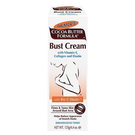 Palmer's Cocoa Butter Formula Bust Cream with Vitamin E, Collagen and Elastin - 4.4 oz.