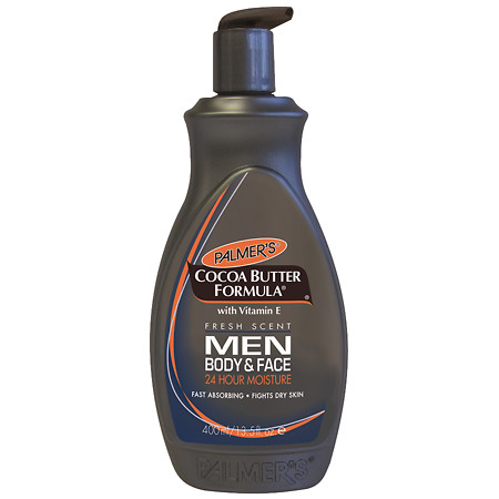 Palmer's Cocoa Butter Formula Men's Body & Face Lotion with Pump - 13.5 fl oz
