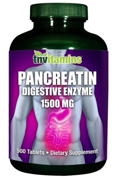 Pancreatin Multi Enzymes 1500 Mg