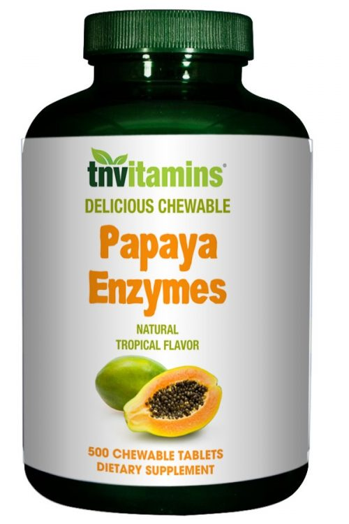 Papaya Enzyme Tropical Chewable Tablets