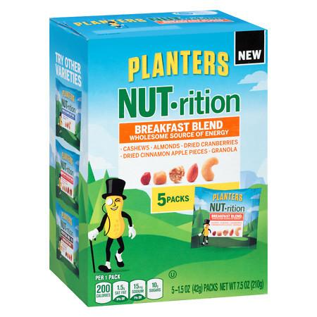 Planters Nut-Rition Mix Breakfast Blend - 7.5 oz.