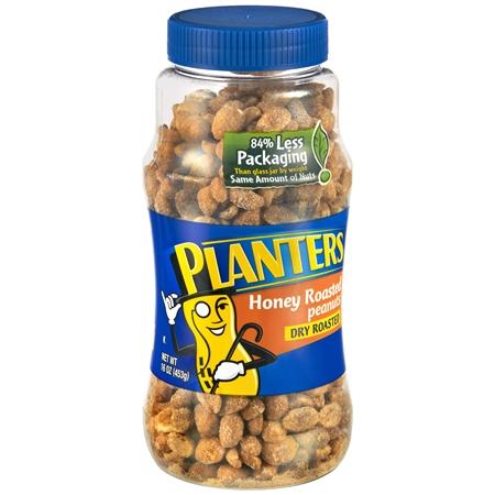 Planters Peanuts Honey Roasted - 16 oz.
