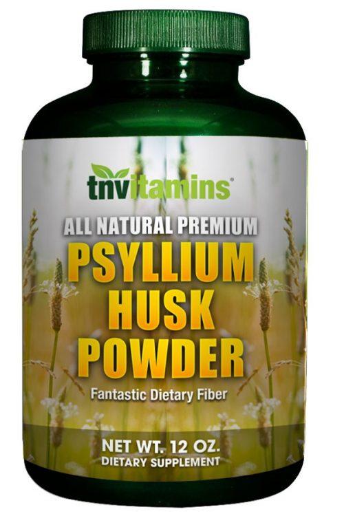 Psyllium Husk Fiber Powder 12 oz