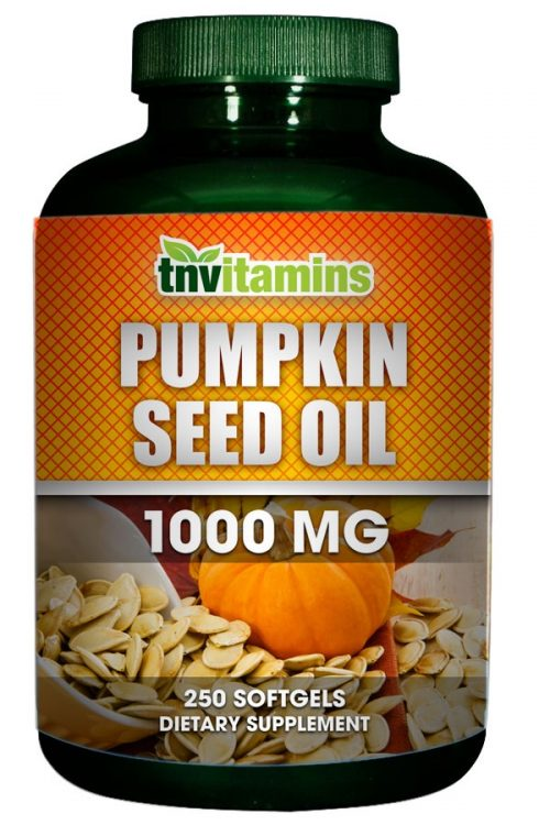 Pumpkin Seed Oil 1000 Mg Softgels