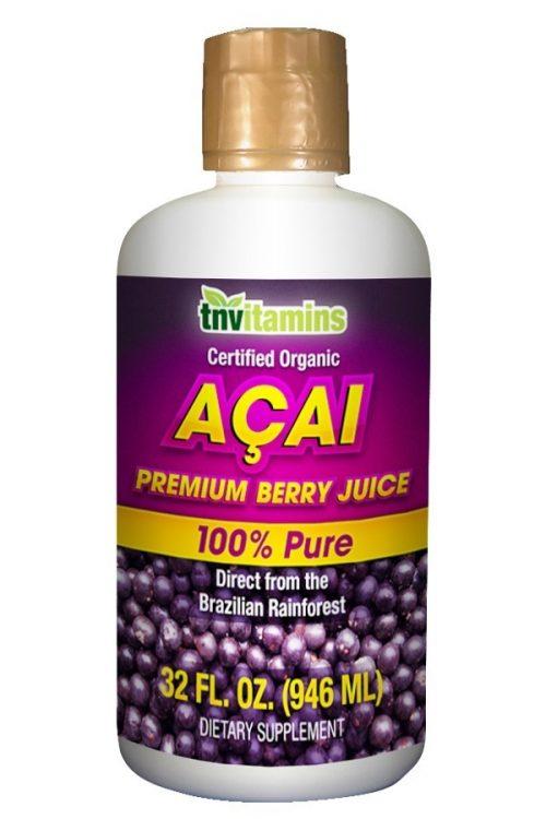 Pure Premium Acai Berry Juice Organic