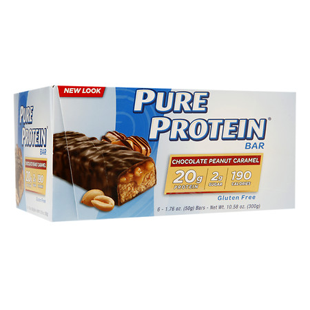 Pure Protein Bars Chocolate Peanut Caramel - 1.76 oz.