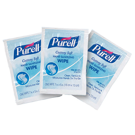 Purell Cottony Soft Sanitizing Wipes - 40 ea