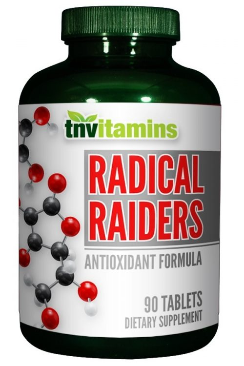 Radical Raiders Super Antioxidant Formula