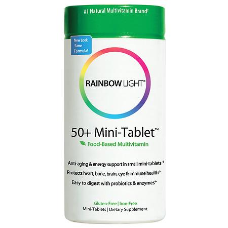 Rainbow Light 50+ Multivitamin Age-Defense, Tablets - 180 ea
