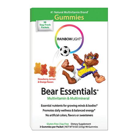 Rainbow Light Gummy Bear Essentials Multivitamin & Multimineral, Packets - 30 ea