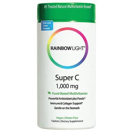 Rainbow Light Super Vitamin C 1,000mg, Tablets - 60 ea