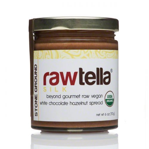 Rawtella Silk Vegan White Chocolate Hazelnut Spread , 6 oz/170g