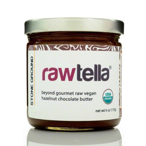 Rawtella Vegan Chocolate Hazelnut Spread, Original, 6 oz/170g