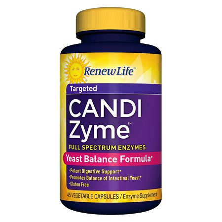 ReNew Life CandiZyme, Vegetable Capsules - 45 ea
