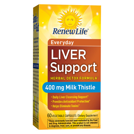 ReNew Life Daily Liver Support, Capsules - 60 ea