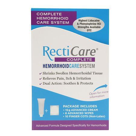 RectiCare Complete Hemorrhoid Care System - 1 ea