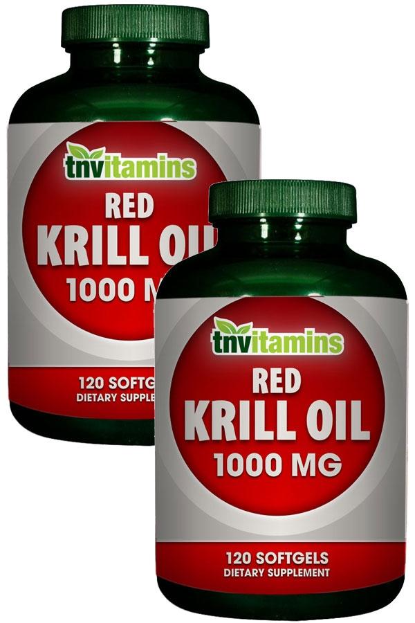 Red Krill Oil 1000 Mg Softgels
