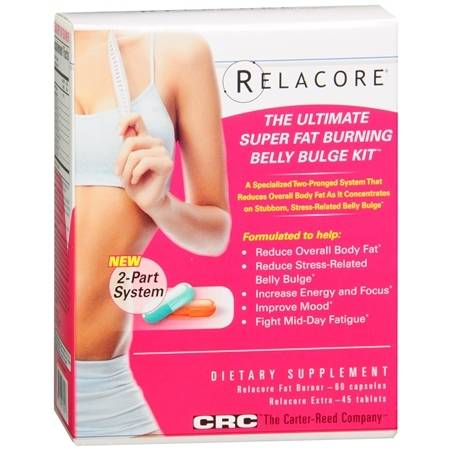 Relacore The Ultimate Super Fat Burning Belly Bulge Kit - 105 ea