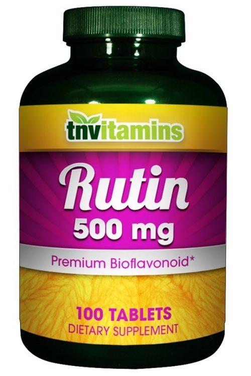 Rutin 500 Mg Tabs