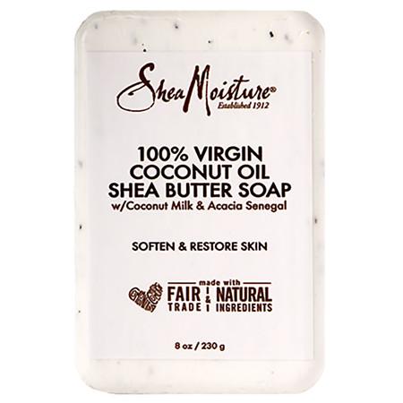 SheaMoisture Coconut Oil Bar Soap - 8 OZ
