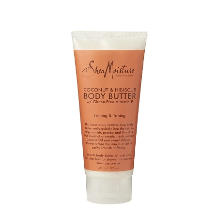 SheaMoisture Coconut & Hibiscus Body Butter - 6 oz.