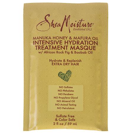 SheaMoisture Manuka Honey and Mafura Oil Intensive Hydration Treatment Masque Manuka Honey & Mafura Oil - 2 fl oz