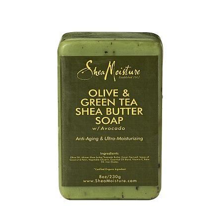 SheaMoisture Olive & Green Tea Shea Butter Soap - 8 oz.