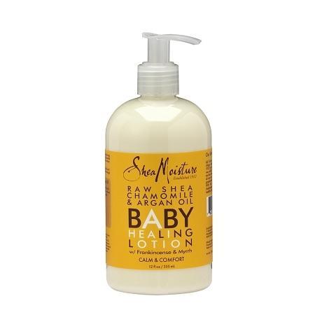 SheaMoisture Raw Shea Chamomile & Argan Oil Baby Healing Lotion - 12 oz.