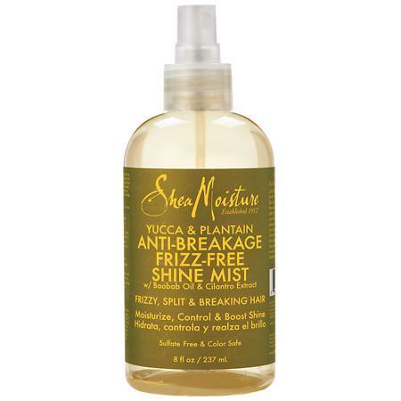 SheaMoisture Yucca & Plantain Anti-Breakage Frizz Free Shine Mist - 8 fl oz