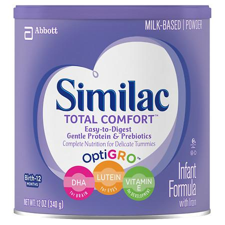 Similac Total Comfort Infant Formula with Iron, Powder - 12 oz.